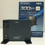 親機を変更した時の NEC AtermWL300NE-AG の設定変更について