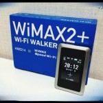 Wi-Fi WALKER WiMAX2+ HWD14 契約。Y!mobile GL04P とどちらが速いのか。